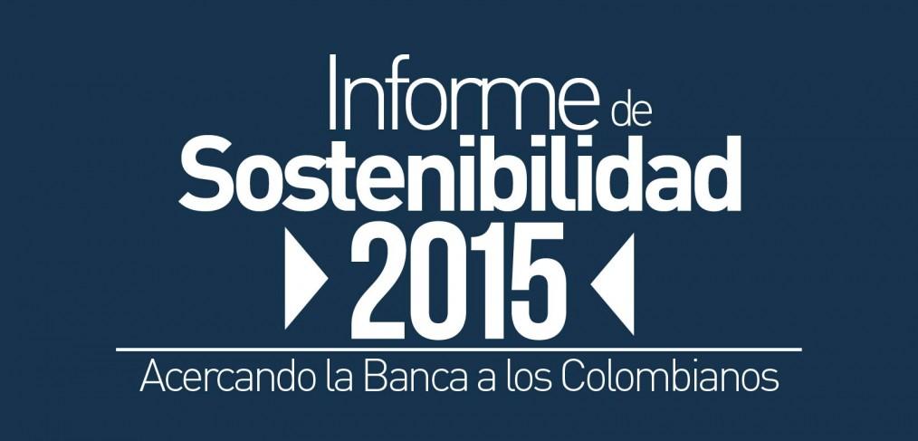 Informe de Sostenibilidad Asobancaria 2015