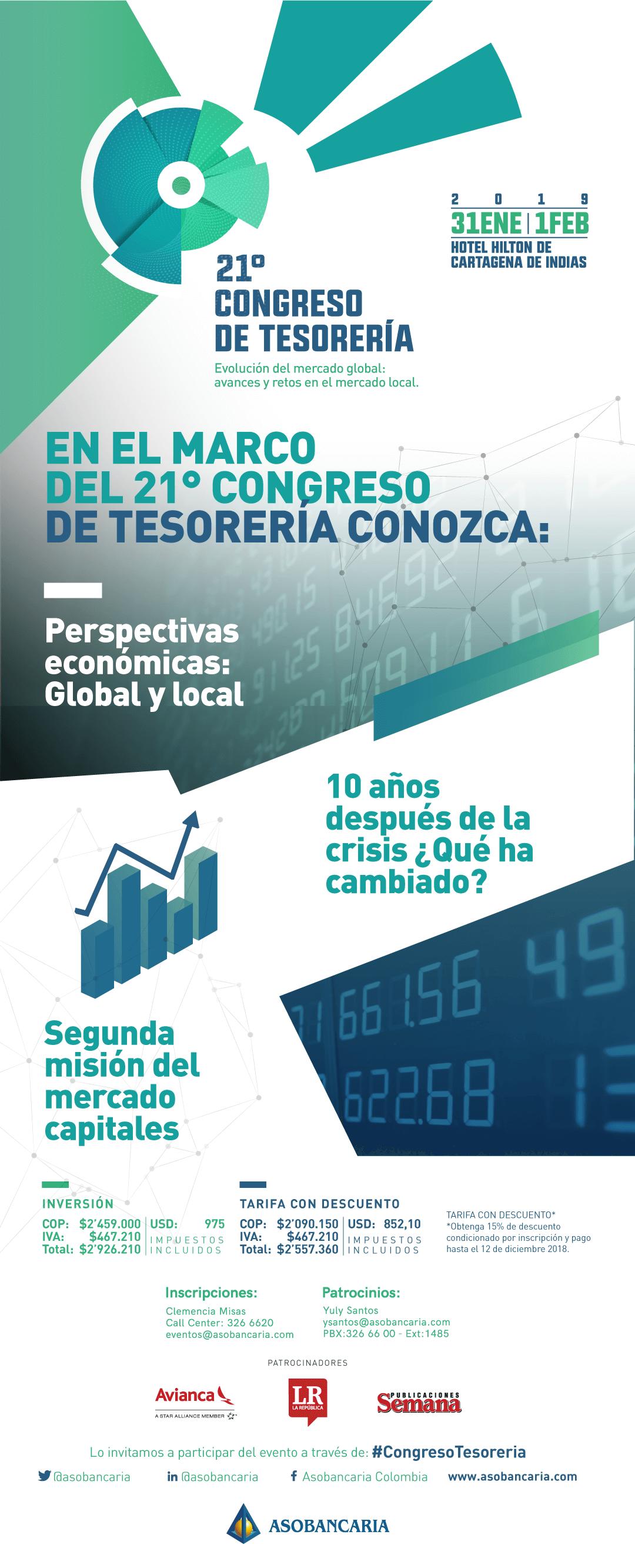 21° Congreso de tesorería